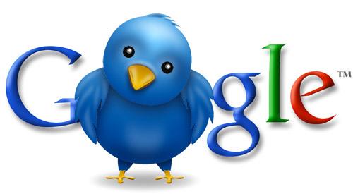 Google et Twitter, l