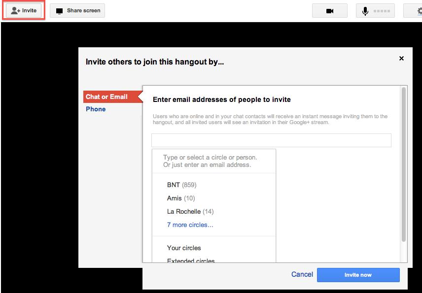 Google+ Hangout permet d