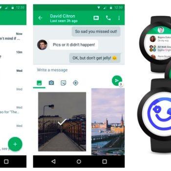 Google Hangouts 4.0 pour Android