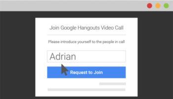 Google Hangouts ne nécessite plus un compte Google
