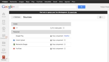 Google+ Historique : La