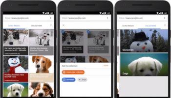 Google permet de sauvegarder des images et les ajouter dans des collections
