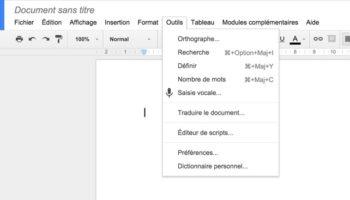 Google introduit la saisie vocale pour Google Docs