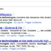 Google au clavier