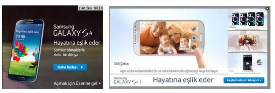 Samsung a utilisé Studio Layouts pour une campagne efficace sur le Galaxy S4