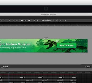 Google lance Web Designer, un outil visuel dédié notamment à la création de sites HTML5 interactifs