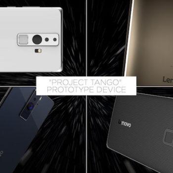 Google et Lenovo font équipe pour un smartphone du projet Tango prévu cet été