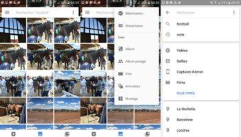 Google Photos permet de facilement rechercher vos images