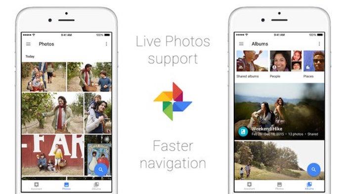 Google Photos ajoute le support pour les Live Photos sur iOS