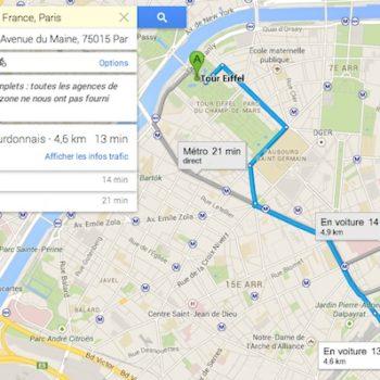 Google pousse le nouveau Google Maps par défaut à tout le monde