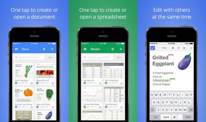 Google pousse les commentaires pour Sheets et Slides sur mobile