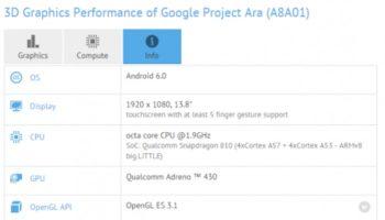 Google Project Ara : les rumeurs d