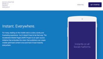 Google publiera sa réponse à Facebook Instant Articles, début 2016
