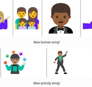 Android N Developer Preview 2 : de nouveaux emojis