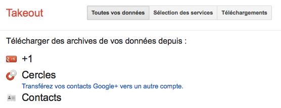 Google publie un outil pour fusionner de multiples comptes Google+ – Transférez vos contacts Google+ vers un autre compte
