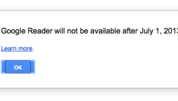 Google Reader fermera ses portes le 1er juillet, et tout le monde flippe
