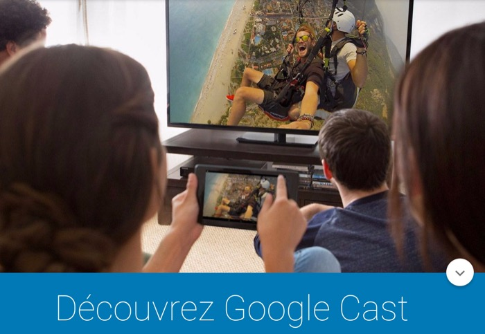 Google renomme son application Chromecast en Google Cast