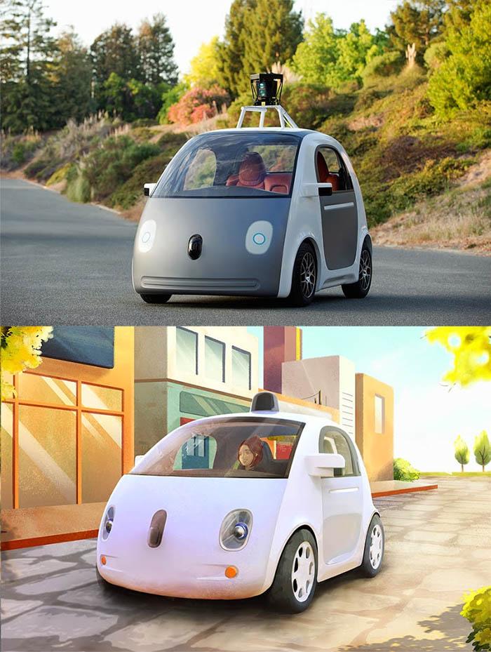 google r v le sa voiture sans conducteur alors a donne quoi. Black Bedroom Furniture Sets. Home Design Ideas