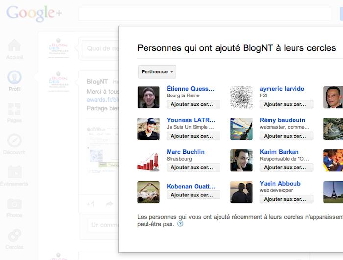 Google+ revendique 100 millions d