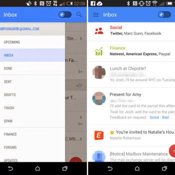 Google serait en train de tester un bouton Snooze pour Gmail
