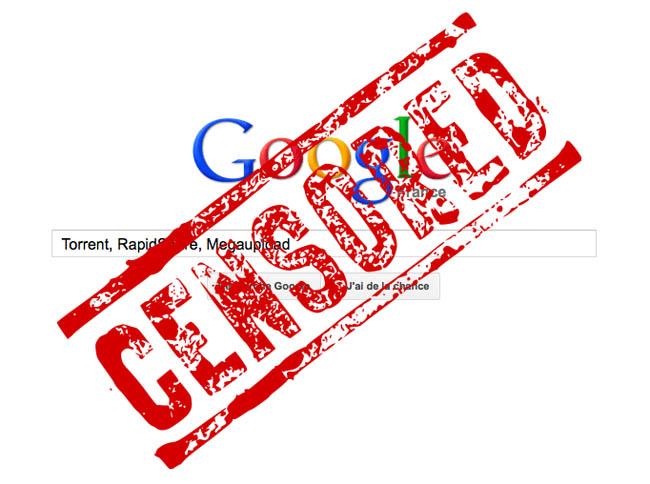 Google va peut-être commencer à censurer les résultats de recherche en France