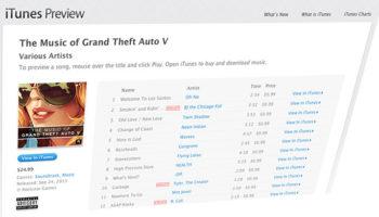 GTA 5 : Trois volumes de la musique de Grand Theft Auto V disponibles maintenant