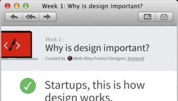 Hack Design : Cours de design gratuits pour les développeurs, envoyés chaque semaine par e-mail