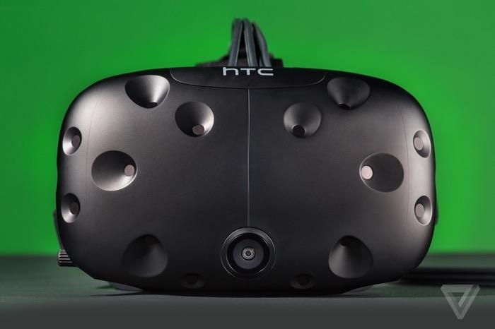 HTC Vive : vue de face