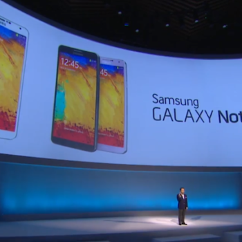 IFA 2013 : Samsung lance le Galaxy Note 3 disponible le 25 septembre