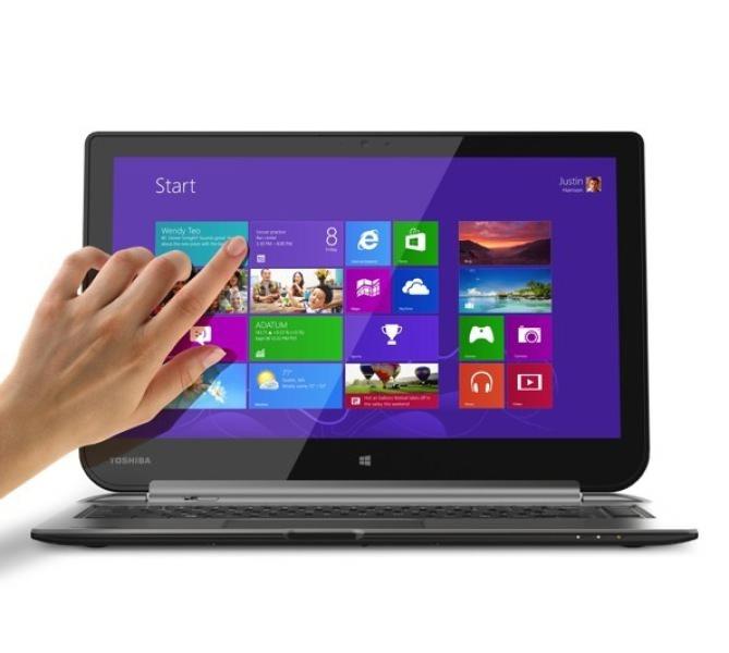 ifa 2013 toshiba pr sente son ordinateur tablette satellite click et une tablette windows 8 1. Black Bedroom Furniture Sets. Home Design Ideas