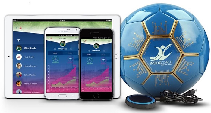 InsideCoach : le ballon de football connecté pour quiconque à deux pieds gauches