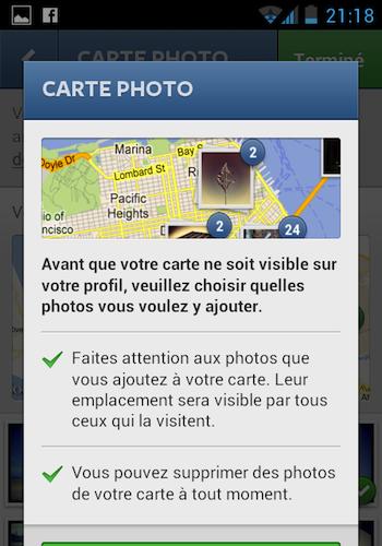 Instagram 3.0 débarque en apportant notamment la géolocalisation – Lancement de Carte Photo pour la première fois