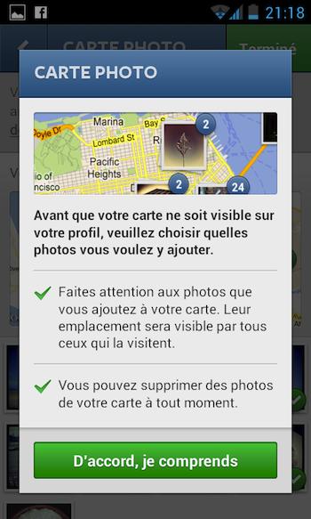 Instagram 3.0 débarque en apportant notamment la géolocalisation - Lancement de Carte Photo pour la première fois