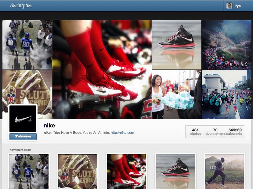 Instagram lance la visualisation des profils depuis le Web et (surprise) ça ressemble à Facebook