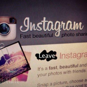 Instagram perd 25% d