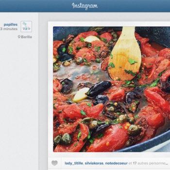 Instagram Web : nouvelle page d