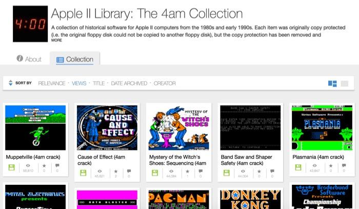 Jouez à des milliers de jeux classiques Apple II dans votre navigateur web