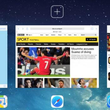 iOS 8 : un écran splitté pour le multitâche sur iPad