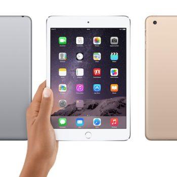 iPad Air 3, un lancement en 2016, et un iPad Mini 4 et iPad Pro en novembre