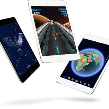 Apple lance un iPad mini 4 plus rapide