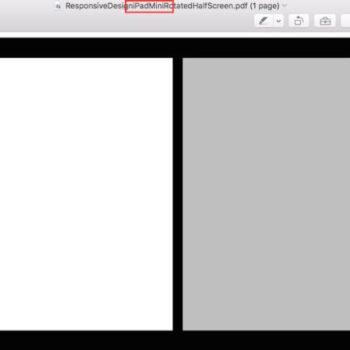 OS X El Capitan suggère un iPad mini exécutant le navigateur Web Safari avec un mode d'écran partagé
