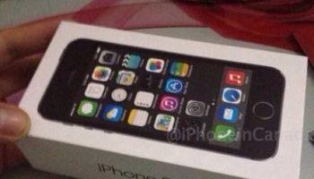Emballage du présupposé iPhone 5S