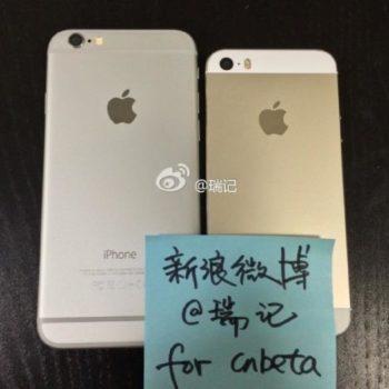iPhone 6 vers iPhone 5S