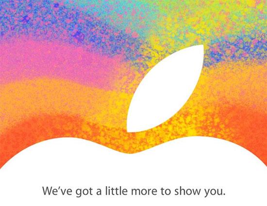 Je ne peux pas ce soir … j'ai Keynote Apple à 19h ! iPad Mini ? iPad 4 ? MacBook Pro Retina ?