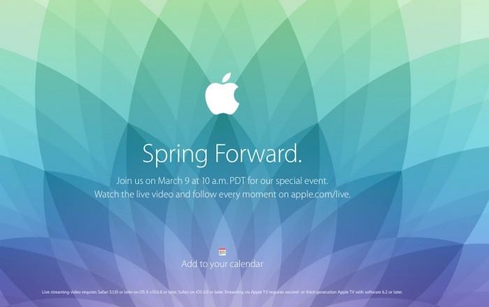 Une Keynote Pour L Apple Watch Prevue Le 9 Mars
