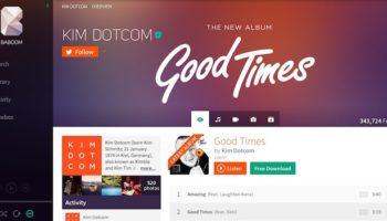 Kim Dotcom dévoile Baboom, son nouveau service de musique en streaming