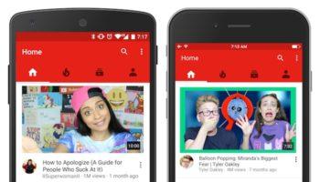 La nouvelle application YouTube va suggérer ce que vous voulez regarder grâce à l