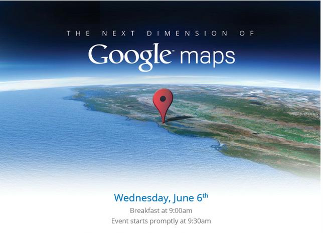 La nouvelle dimension de Google Maps arrive le 6 Juin