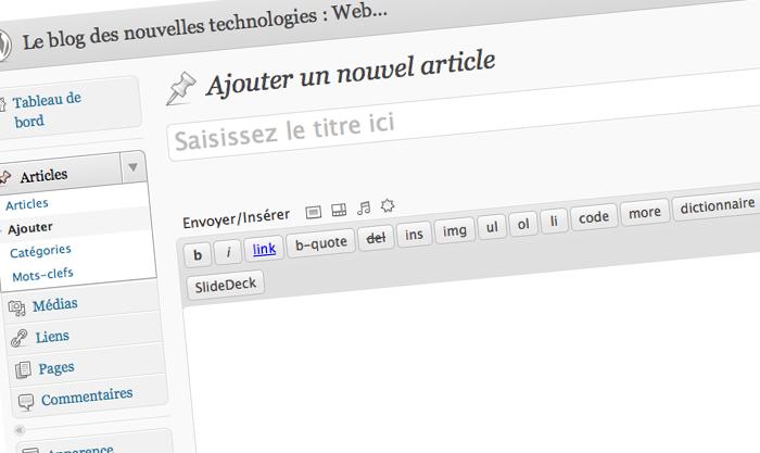 Le blog des nouvelles technologies recherche des rédacteurs / rédactrices
