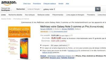 Le livre de référence sur le Galaxy Note 3 gratuit pendant 48 heures